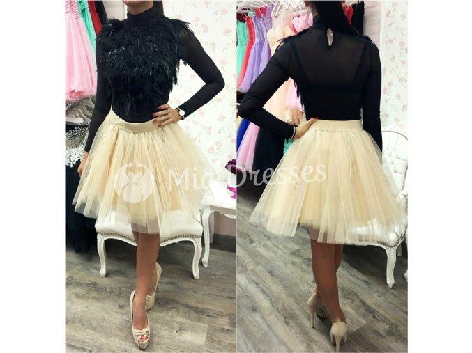 Piesková sukňa