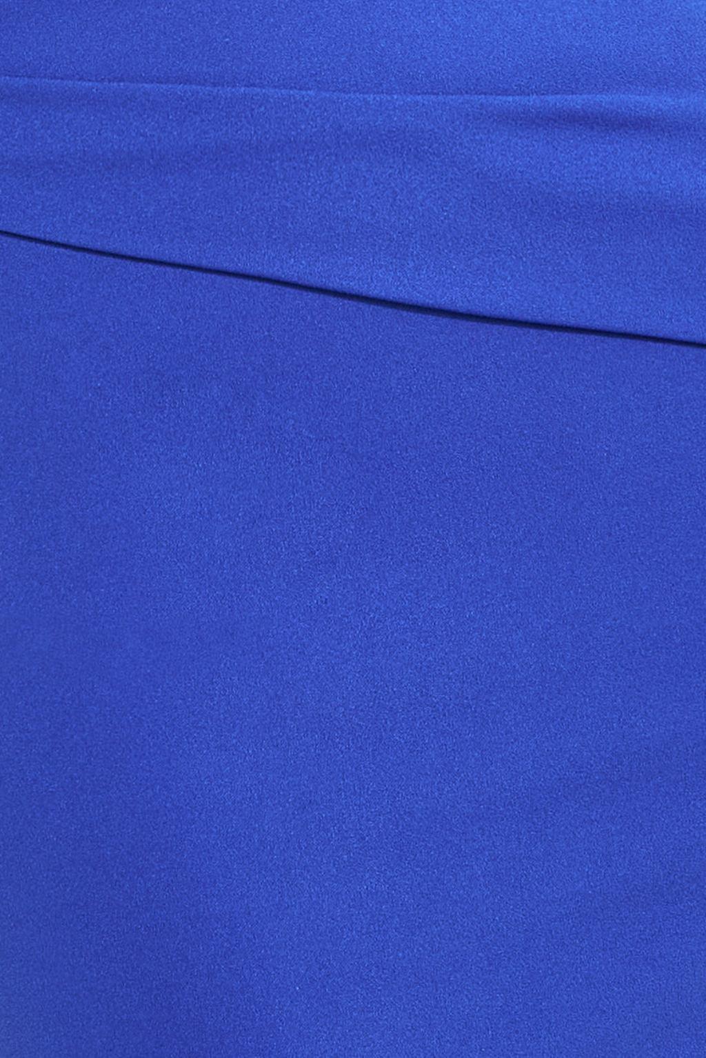 Modré spoločenské priliehavé šaty Veľkosť: XL