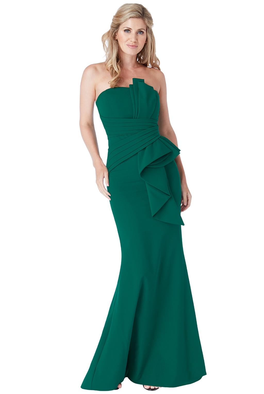 Smaragdové spoločenské šaty Veľkosť: S