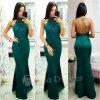 Smaragdové spoločenské šaty s krajkou