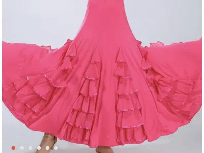 Kankánová sukně 2