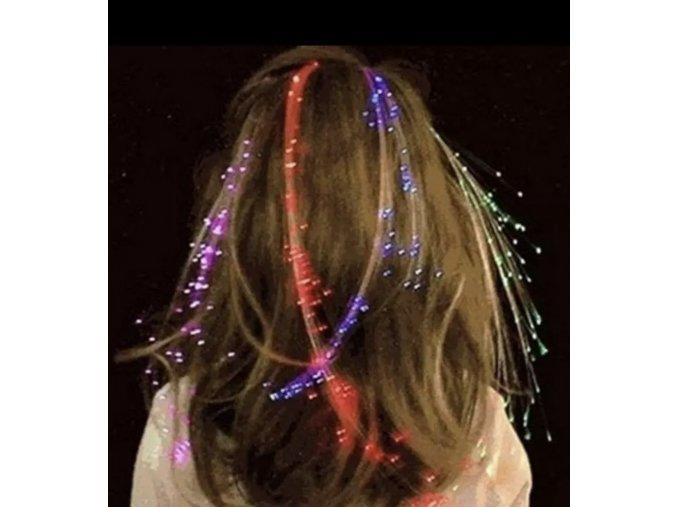 Svítící vlasy a jiné dekorace
