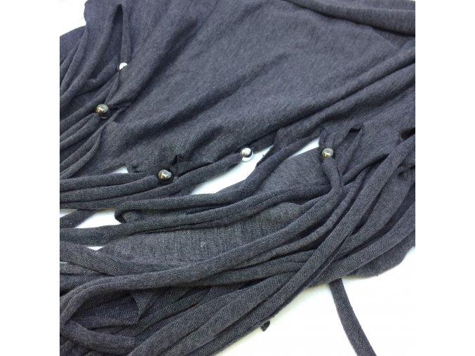 šátek, šedý