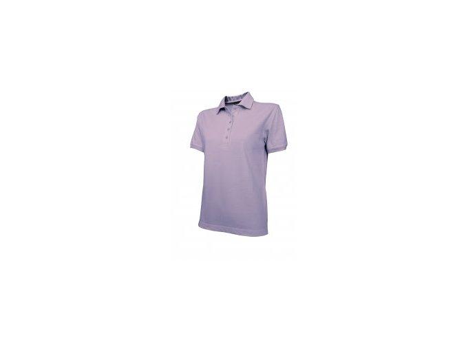 Dámské tričko s límečkem