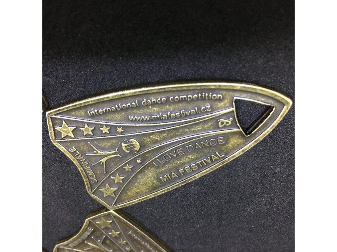 Nová medaile MIA - zlatá