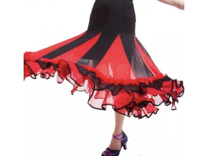 Kankánová sukně 3
