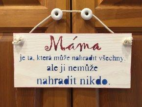 Cedulka máma