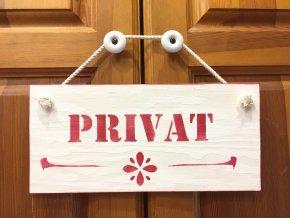 "Cedulka ""PRIVAT"""