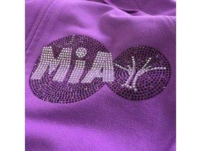 MIA mikina fialová