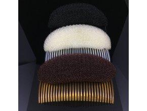 Temenní vycpávka do vlasů - hřebínek