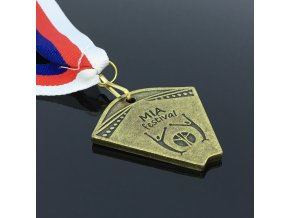Medaile  - zlatá semifi.- MIA festival