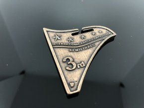 Nová medaile MIA - bronzová