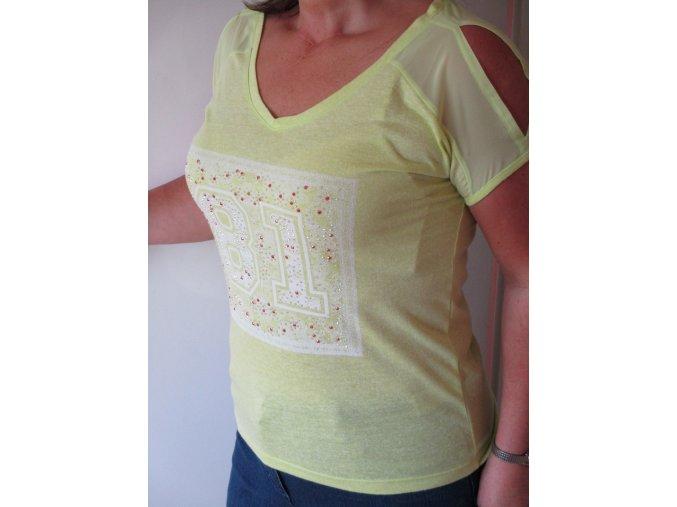 Zelené tričko Tramontana