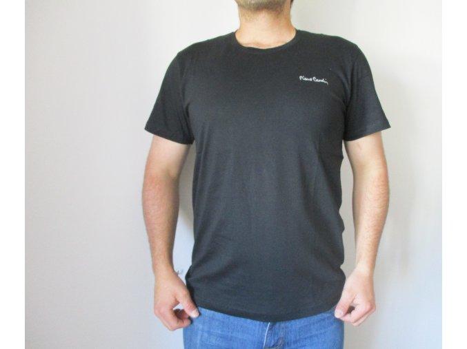 Černé pánské tričko Pierre Cardin