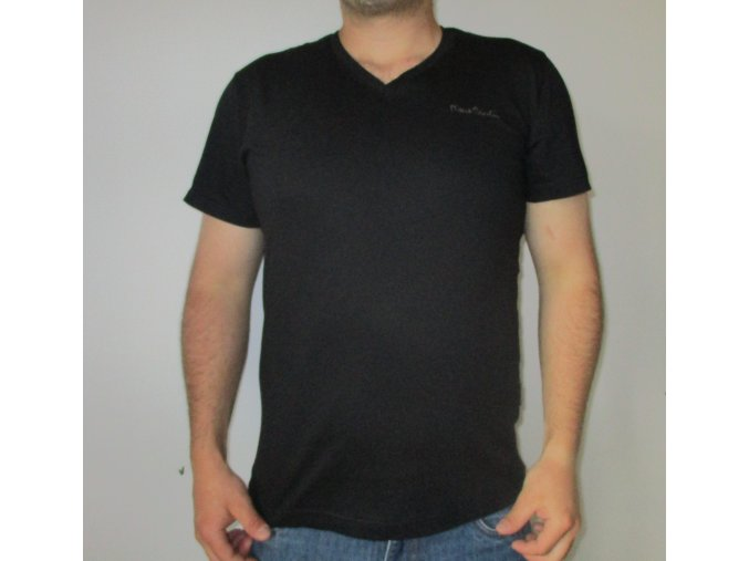 Černé tričko Pierre Cardin vel. L
