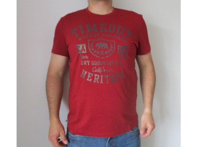 Červené tričko TimeOut