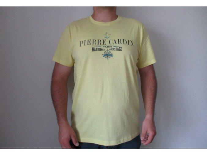 Žluté tričko Pierre Cardin