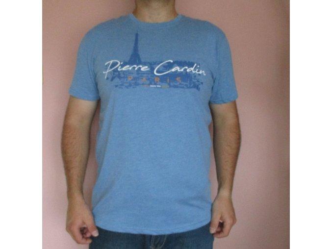 Modré tričko Pierre Cardin