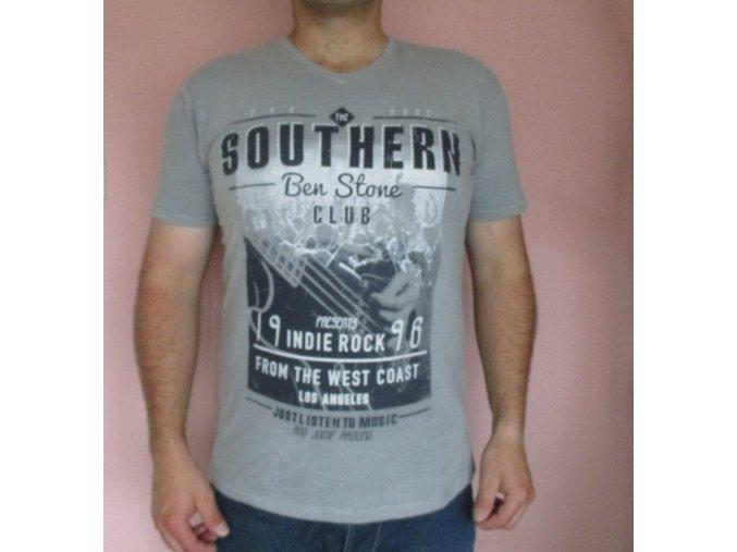 Pánské šedě tričko