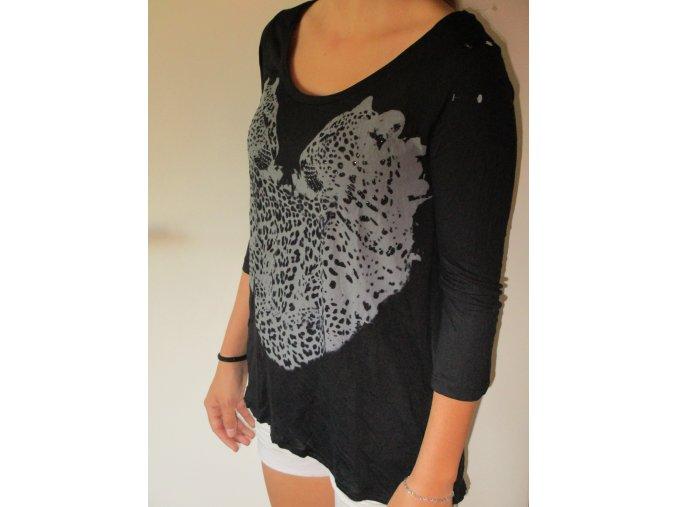 Černé tričko dámské Cache Cache