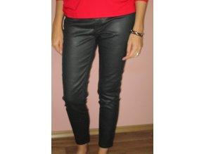 Černé kalhoty Mango