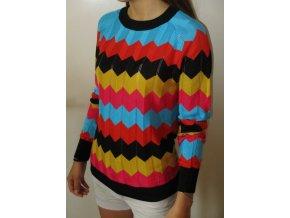 Proužkovaný svetr Yes! Miss