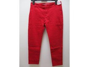 Yes! Miss Bokové kalhoty červené