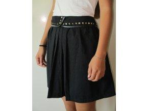 Černá sukně se sklady Cache Cache