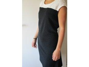 Černé šaty Cache Cache