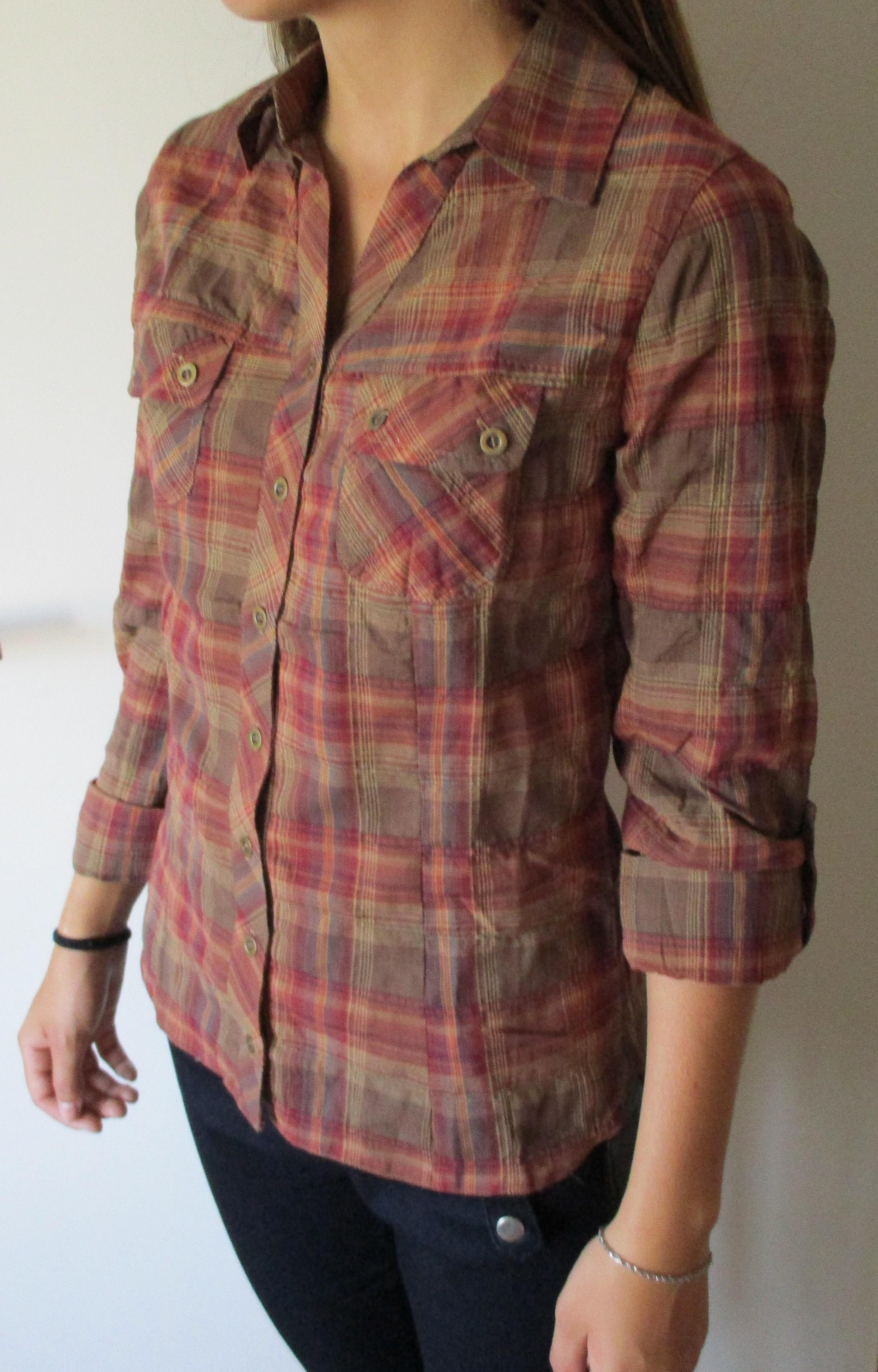 Kostkovaná košile Cache Cache