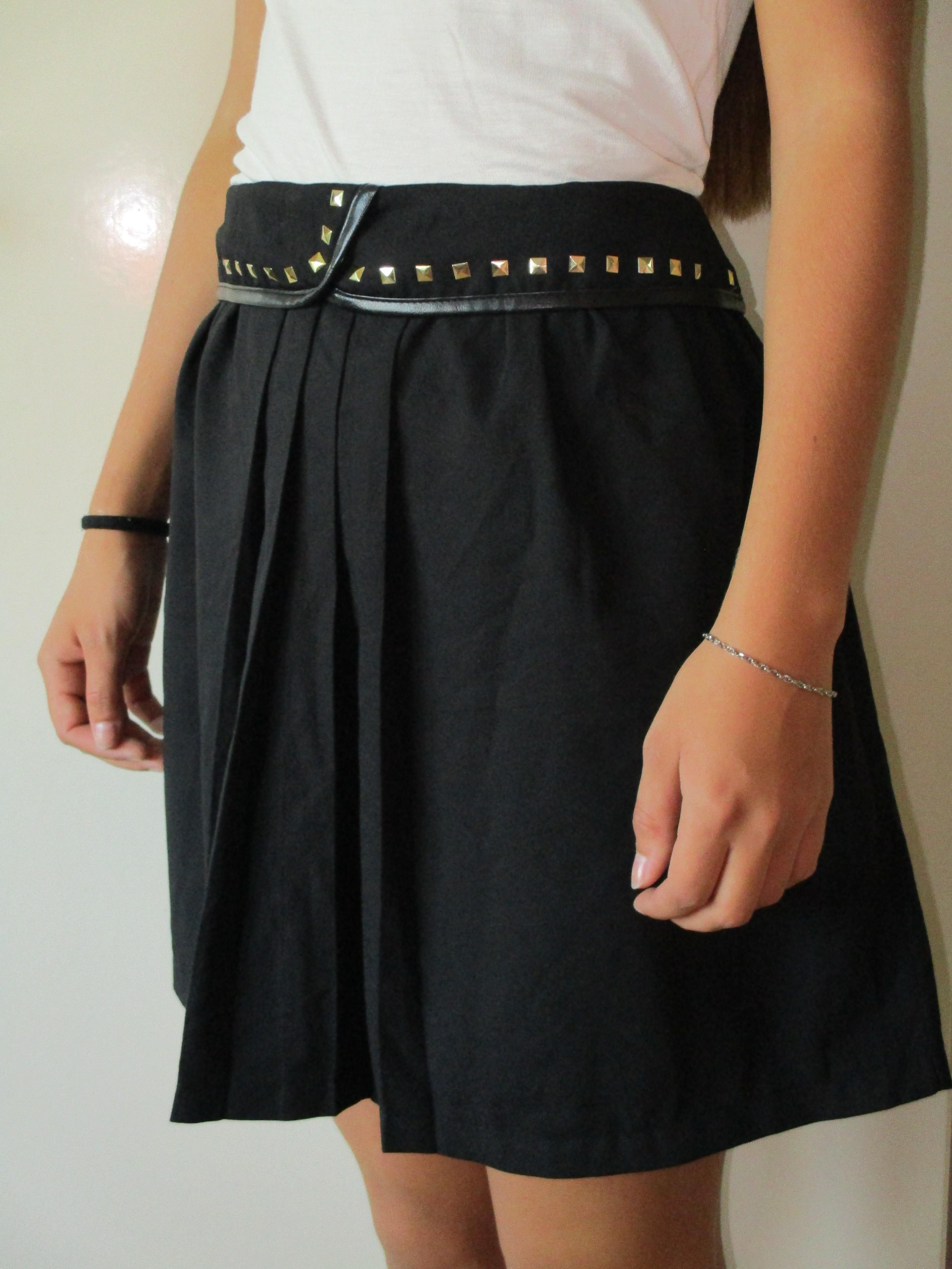 Černá sukně se sklady Cache Cache 3f24290c69