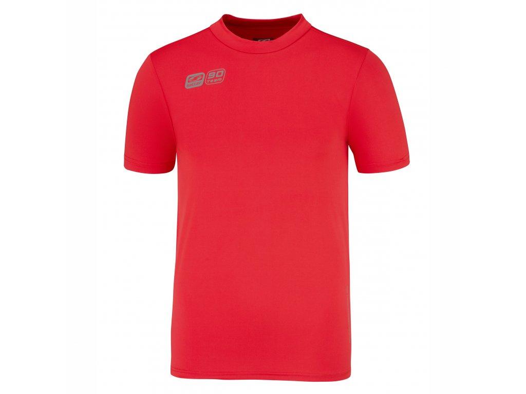 funktions unterhemd baselayers90 saller rot frontalansicht
