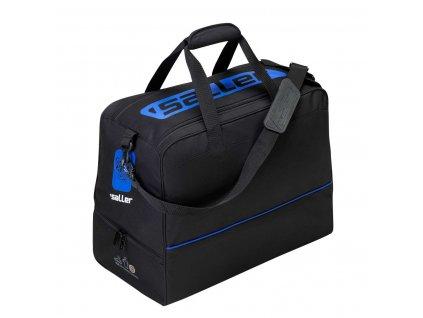 schuhfachtasche sallericon schwarz blau frontalansicht 600x600@2x