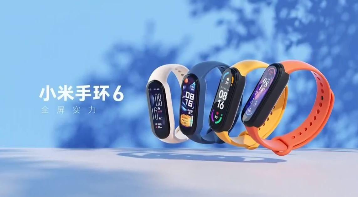 Oficiální představení Xiaomi Mi Band 6