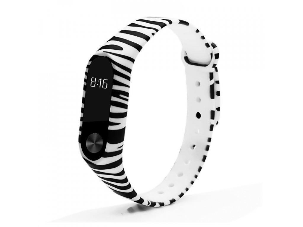 Zebra - Mi Band 2 náhradní náramek (výprodej)