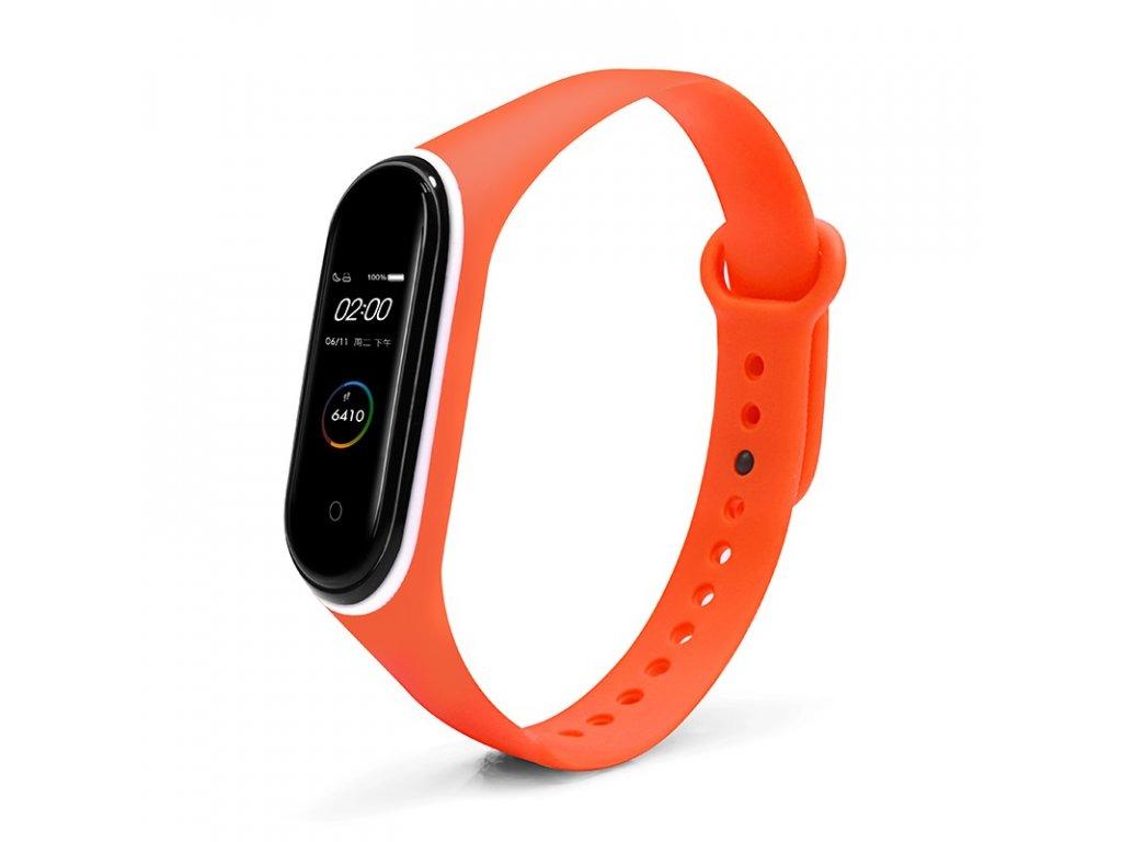 Mi Band 3 4 náhradní náramek oranžová