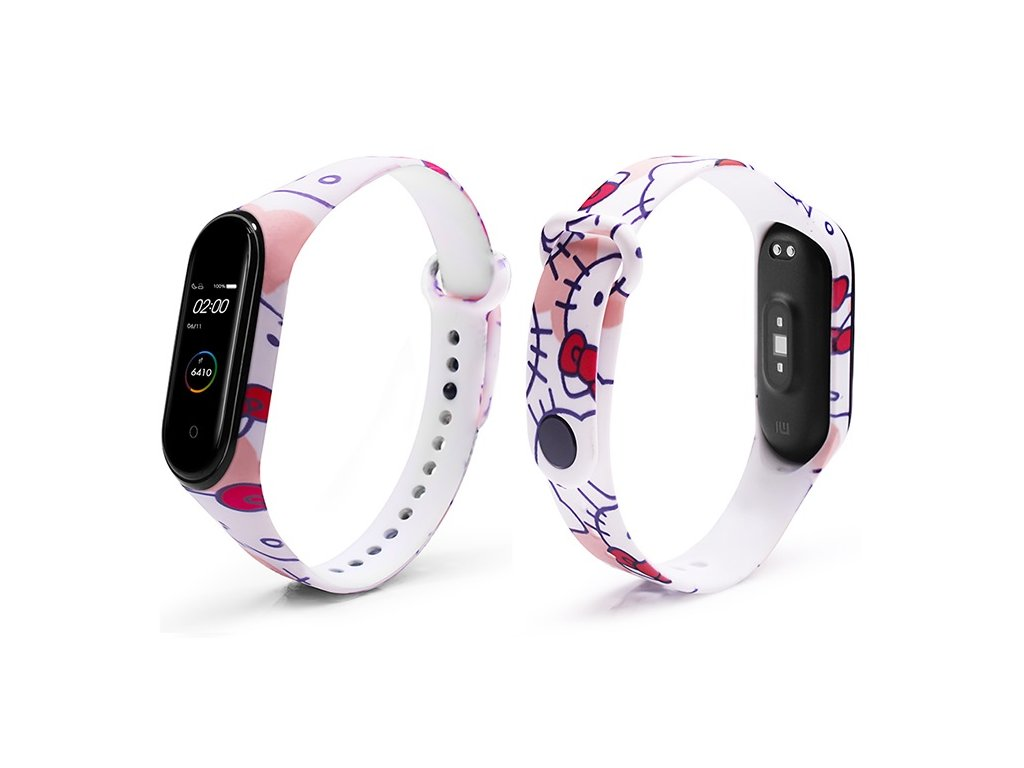 Mi Band 3 4 naramek hello kitty