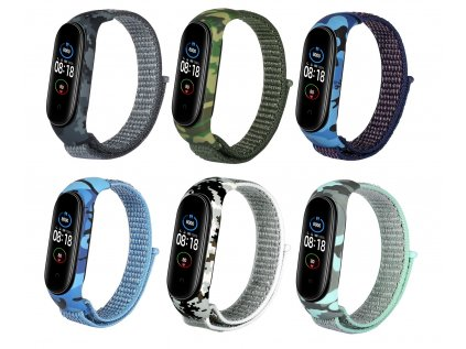 Mi Band 5 nylon maskac