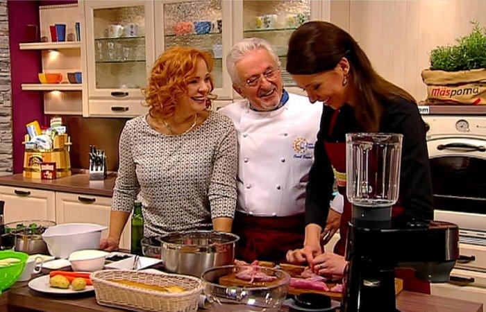 Spolupráca s RTVS, Tajomstvo mojej kuchyne a Dámsky Klub