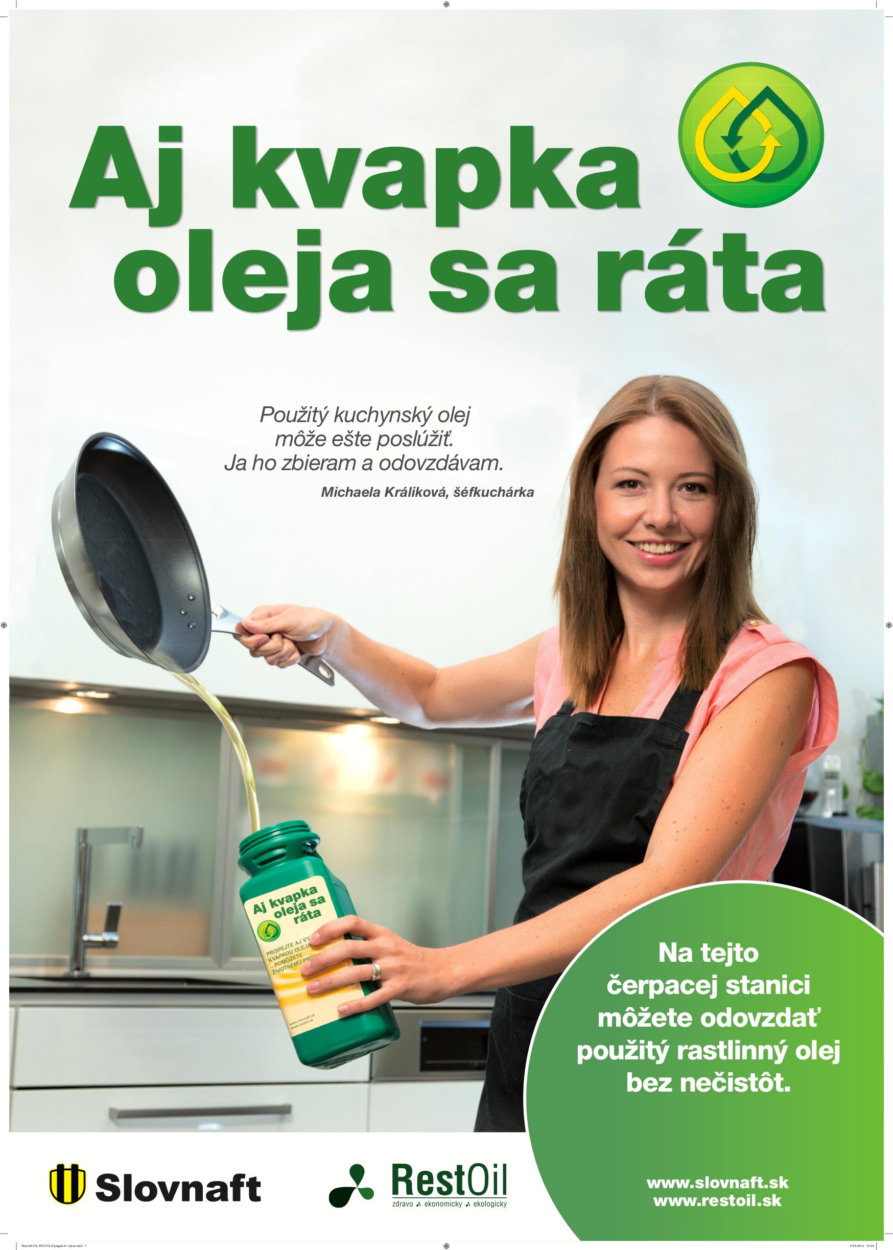 Spolupráca so Slovnaftom Miška Králiková