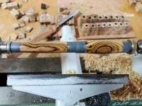 Finální úpravy a napouštění dřeva kvalitním olejem s voskem
