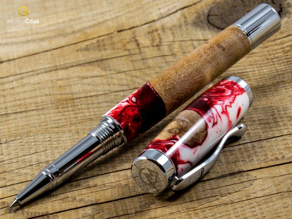 darek pro muze darkove pero s gravirovanim plnici kulickove drevene 1 1750