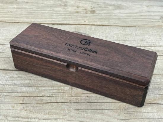 Holzkassette aus amerikanischer Walnuss