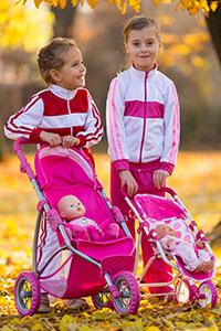 Dětské sportovní teplákové soupravy