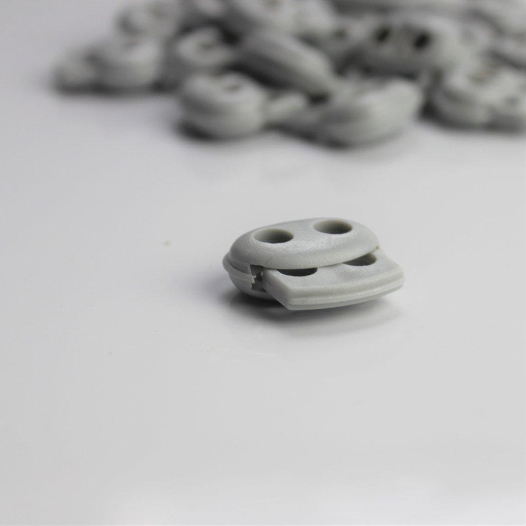 brzda 24mm šedá 2díry 500119 (3)