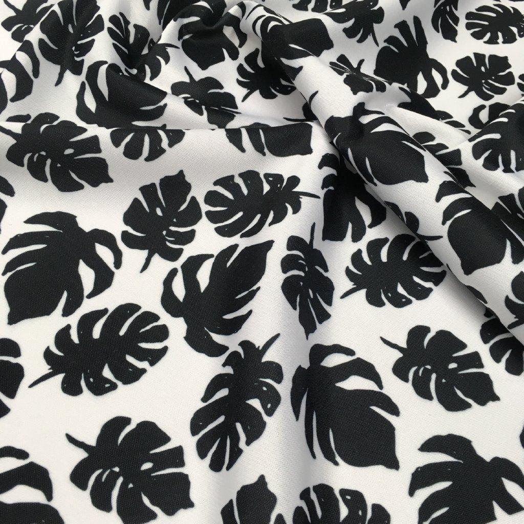 Černobílá 707006 (vyberte materiál zimní softshell elastický (šíře 150cm) 280g  10000/10000)