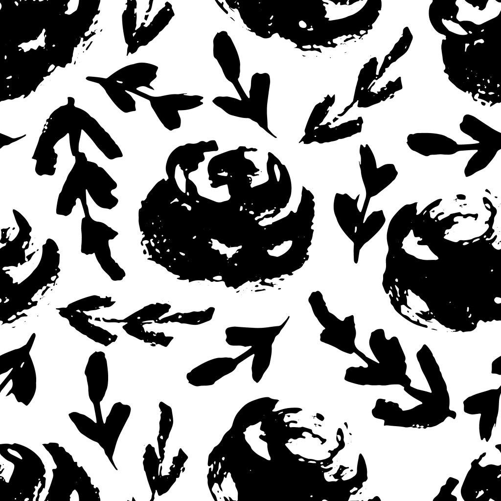 Černobílá 707036 (vyberte materiál zimní softshell elastický (šíře 150cm) 280g  10000/10000)