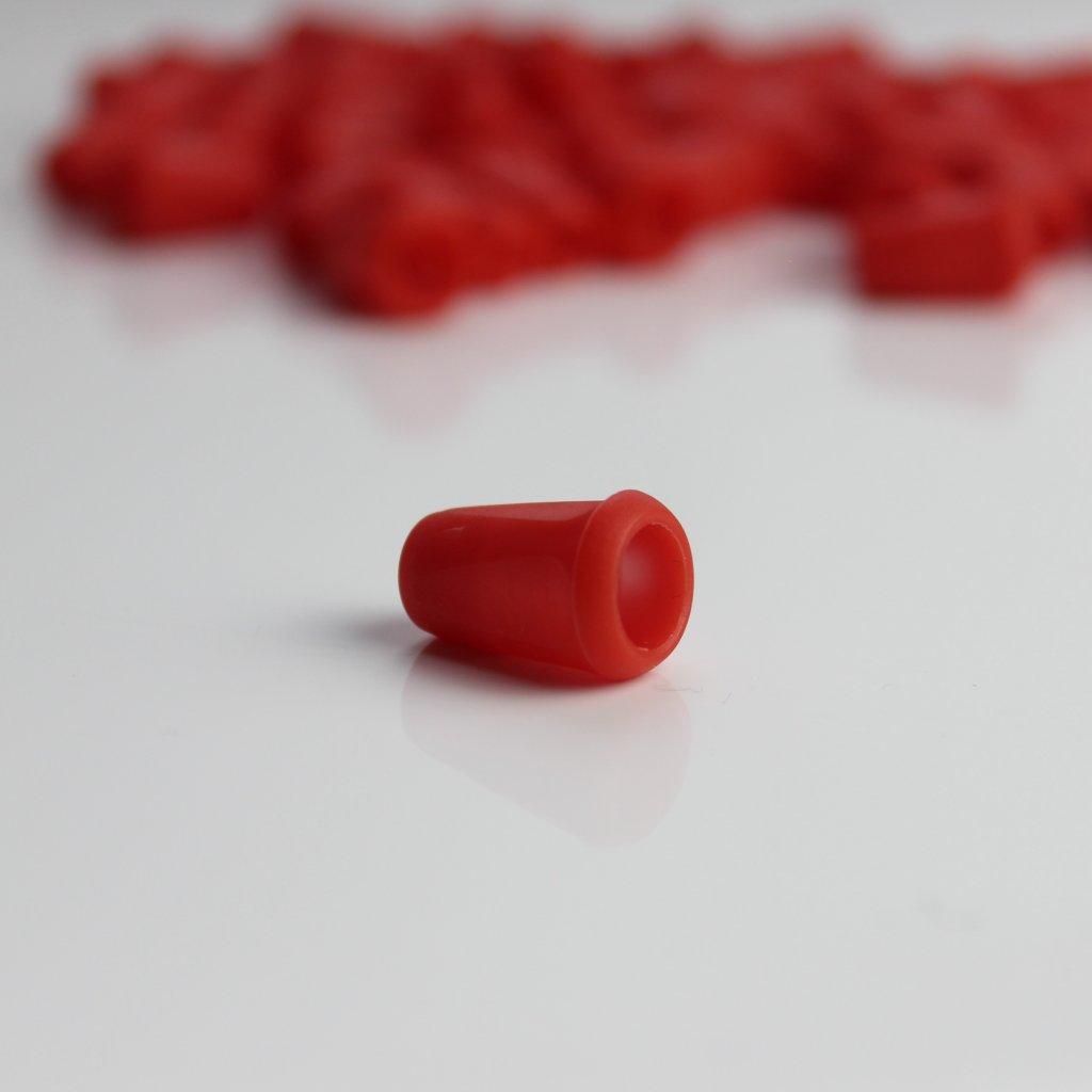koncovka šňůrky červená (1)