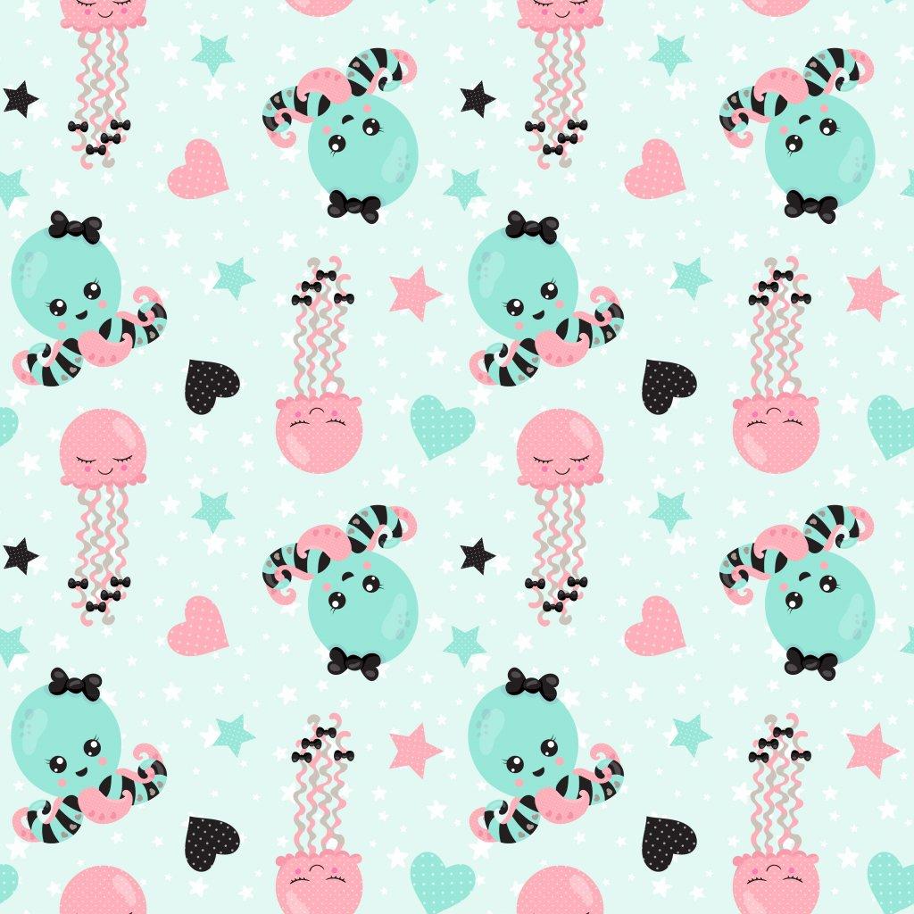 baby girl 744008 (vyberte materiál zimní softshell elastický (šíře 150cm) 280g  10000/10000)