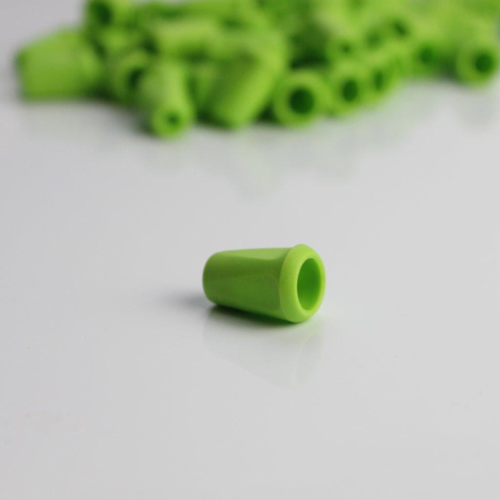 koncovka šňůrky zelená (1)